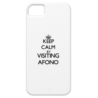 Keep calm by visiting Afono Samoa iPhone 5 Cover