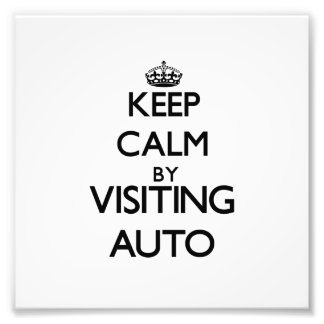 Keep calm by visiting Auto Samoa Photo Print
