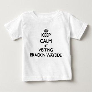 Keep calm by visiting Brackin Wayside Florida Tshirts