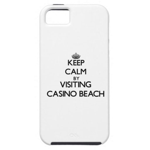 Keep calm by visiting Casino Beach Florida iPhone 5/5S Cover