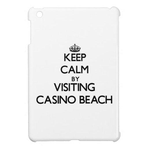 Keep calm by visiting Casino Beach Florida iPad Mini Covers