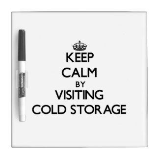 Keep calm by visiting Cold Storage Massachusetts Dry Erase Board