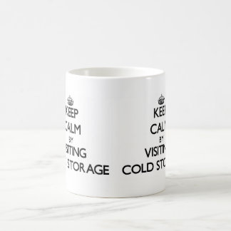 Keep calm by visiting Cold Storage Massachusetts Mugs