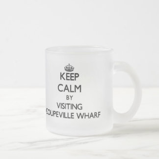 Keep calm by visiting Coupeville Wharf Washington Coffee Mugs