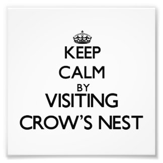 Keep calm by visiting Crow'S Nest Massachusetts Photo Print