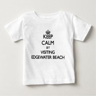 Keep calm by visiting Edgewater Beach Florida T Shirts