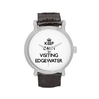 Keep calm by visiting Edgewater Massachusetts Wristwatch