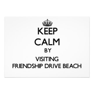 Keep calm by visiting Friendship Drive Beach New Y Invites