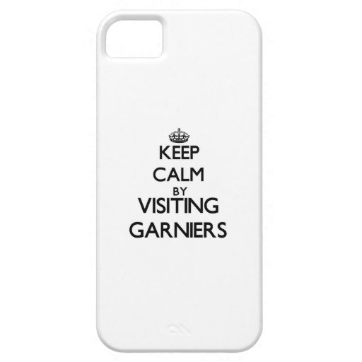 Keep calm by visiting Garniers Florida iPhone 5/5S Cases