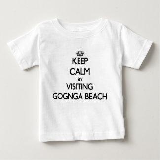 Keep calm by visiting Gognga Beach Guam Shirt