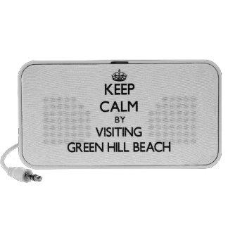Keep calm by visiting Green Hill Beach Rhode Islan iPhone Speakers