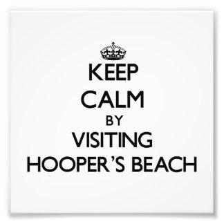 Keep calm by visiting Hooper'S Beach California Photograph