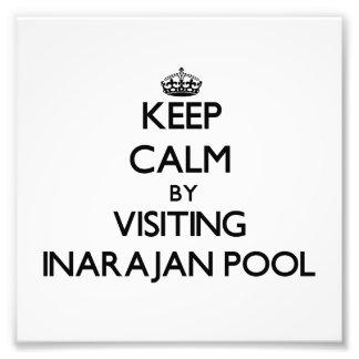 Keep calm by visiting Inarajan Pool Guam Photo Print