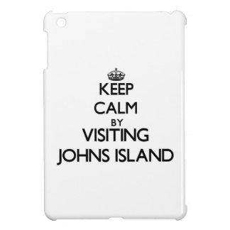Keep calm by visiting Johns Island Washington iPad Mini Case