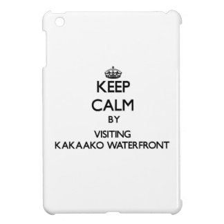 Keep calm by visiting Kakaako Waterfront Hawaii Cover For The iPad Mini