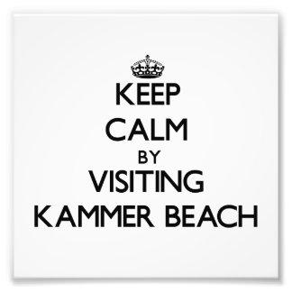 Keep calm by visiting Kammer Beach Northern Marian Photograph