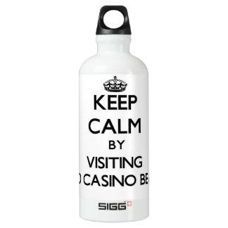 Keep calm by visiting Lido Casino Beach Florida SIGG Traveller 0.6L Water Bottle