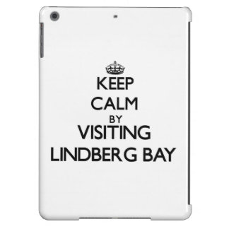 Keep calm by visiting Lindberg Bay Virgin Islands iPad Air Cover