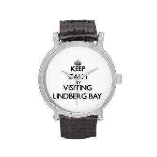 Keep calm by visiting Lindberg Bay Virgin Islands Wrist Watch