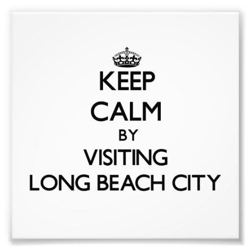 Keep calm by visiting Long Beach City New York Photo Art