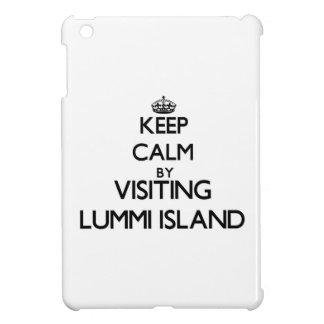 Keep calm by visiting Lummi Island Washington Cover For The iPad Mini