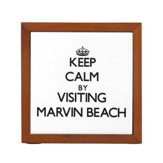 Keep calm by visiting Marvin Beach Connecticut Desk Organisers