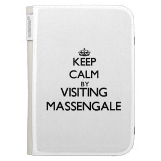 Keep calm by visiting Massengale Georgia Kindle 3G Cover