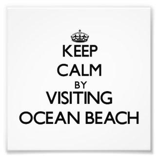 Keep calm by visiting Ocean Beach New York Photo