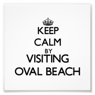 Keep calm by visiting Oval Beach Michigan Photo