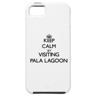 Keep calm by visiting Pala Lagoon Samoa iPhone 5 Covers