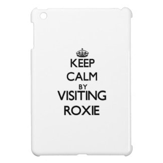 Keep calm by visiting Roxie New Jersey iPad Mini Case