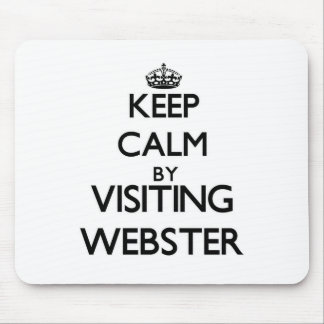 Keep calm by visiting Webster New Jersey Mousepad