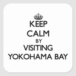 Keep calm by visiting Yokohama Bay Hawaii Sticker