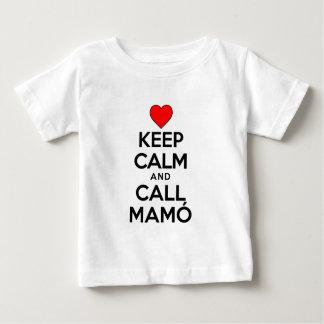 Keep Calm Call Mamo Tee Shirt