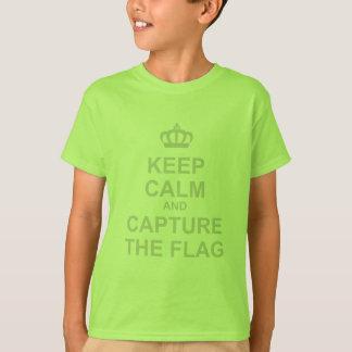 Keep Calm & Capture The Flag - Gamer Video Games T-Shirt