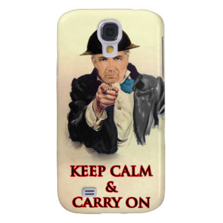 Keep Calm & Carry On Galaxy S4 Case