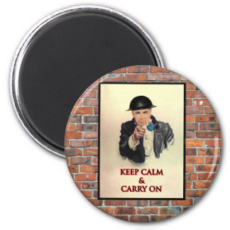 Keep Calm & Carry On Magnet