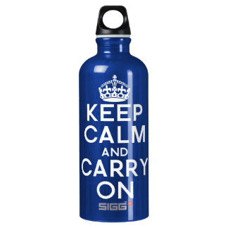 Keep Calm Carry On SIGG Traveller 0.6L Water Bottle