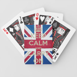 Keep Calm & Carry On Tragic Royalty Bicycle Playing Cards