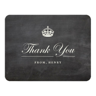 Keep Calm Chalkboard Birthday Party Thank You Card 11 Cm X 14 Cm Invitation Card