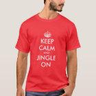 Keep Calm Christmas t shirt   Customisable gift