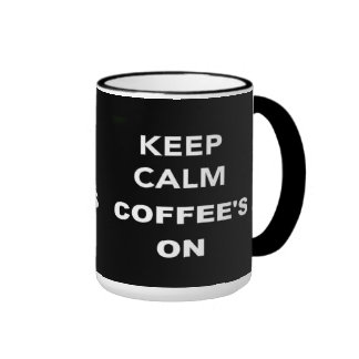 Keep Calm Coffee Mugs