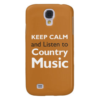 Keep Calm Country Galaxy S4 Case