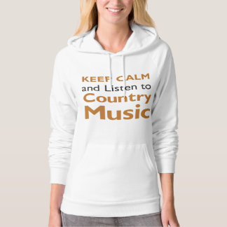 Keep Calm Country Hoodie