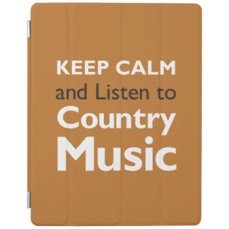 Keep Calm Country iPad Cover