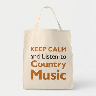 Keep Calm Country Tote Bag