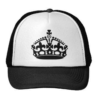Keep Calm Crown Cap