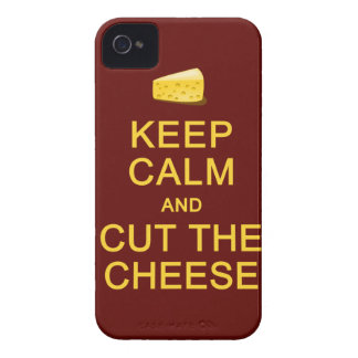 Keep Calm & Cut The Cheese Blackberry Bold case