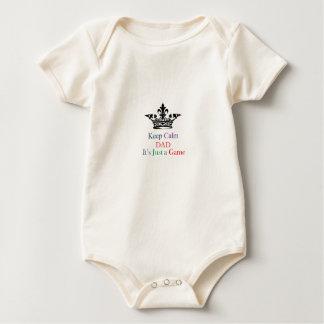 Keep Calm Dad Baby Bodysuit