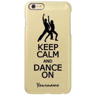 Keep Calm & Dance On custom cases